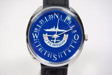 Russian mechanical watch RAKETA Destroyer Ship 24H Blue dial. 39mm
