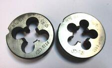 2x Gewindeschneideisen Schneideisen M16 6g Links HSS-D 9930 WMW   A1954