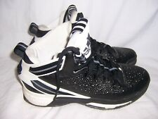 online retailer 0b422 384d1 2015 Adidas Boost Derrick D Rose Basketball Tennis Shoes Size 12 Black White  EUC