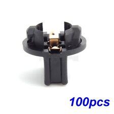 100 Pcs Twist Lock T10 168 194 Wedge Instrument Panel Dash Light Bulb Socket