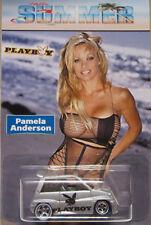 Hot Wheels CUSTOM '85 HONDA CITY Playboy Pamela Anderson Real Riders 1/1 Made!