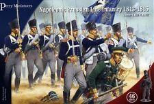 PRUSSIAN NAPOLEONIC LINE INFANTRY - PERRY MINIATURES - 28MM - NAPOLEONICS