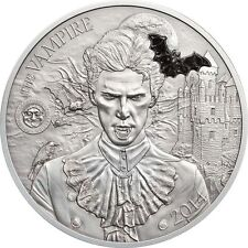 Palau 2014 Mythical Creatures II - The Vampire 2oz Silver Coin