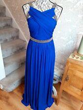 Coast blue embellished maxi dress size UK8