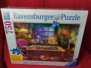 Ravensburger Puzzle Puzzler's Place 750 Piece Large Format Jigsaw Puzzle 16 4448