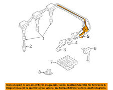 s l225 ignition wires for kia sedona ebay 2003 kia sorento spark plug wire diagram at gsmx.co