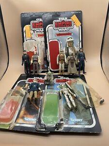 Vintage Star Wars Lot of 7 Action Figures Kenner 1977-1982 Empire Strikes Back