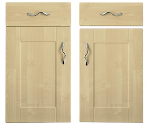 Kitchen Direct Cologne Maple SHAKER DOORS, DRAWER FRONTS Wall Larder Drawer