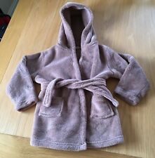 Boys Brown Dressing Gown Size 2-3 Years