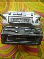 8 Track Tape Players Car Sanyo Clarion