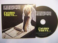 LARKO J'Ai Des Torts – 2009 Belgian CD - Card Sleeve – Punk Rock - RARE!