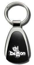Dodge Dart Demon Black Teardrop Keychain Key Chain Fob Ring