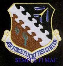 EDWARDS AFB US AIR FORCE FLIGHT TEST CENTER PATCH NASA DRYDEN USAF TEST PILOT