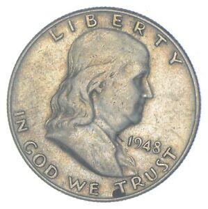 Better 1948-D US Franklin 90% Silver Half Dollar Coin Collection Set Break *601