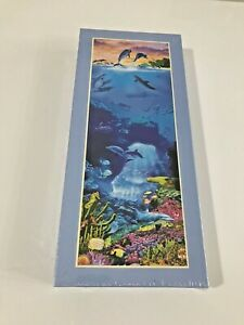 Express Gifts Dolphin World Aquatic 1000 Piece Jigsaw Puzzle Factory Sealed