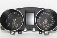 Speedometer Instrument Cluster Dash Panel Gauges 2010 2011 Golf GTI 86,350 Miles