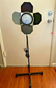 Photography Projection Stage Table Lamp Light Modeling w/ Tripod Stand WORKS EUC