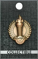 Hard Rock Cafe ATHENS 2017 3-D Greek Olympic Torch PIN New on Card! - HRC #96662