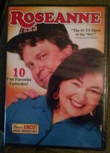Roseanne: 10 Fan Favorite Episodes (DVD, 2011) Roseanne, John Goodman