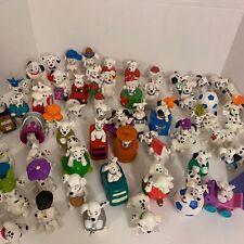 Vintage Lot of 100+ Disney 101 DALMATIANS With Bag. Plastic Toys /Action Figure