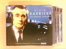 COFFRET 3 CD RARE / ALAIN BARRIERE / LES GRANDS CONCERTS / EXCELLENT ETAT