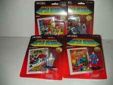 ERTL 1990  DC SUPERHEROES (4) figure lot