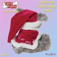 Me To You Dress Up Tatty Puppy Clothes Santa Father Christmas Outfit Accessory