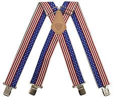 Mcguire Nicholas USA Flag Mens Work Braces