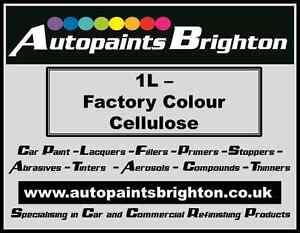 Original Factory Colour Car Paint Solid Cellulose 1L