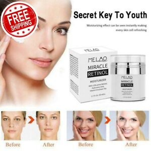 MELAO 2.5% Moisturizer Cream Hyaluronic Acid Anti Aging Day & Night Cream TSLM1