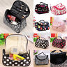 Multifunction Cosmetic Bag Makeup Case Pouch Toiletry Zip Wash Organizer Travel