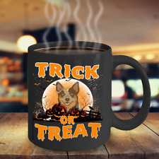 Australian Cattle Dog Halloween Coffee Mug, Cattle Dog Halloween Gifts, Acd Dog