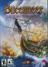 Buccaneer The Pursuit of Infamy - Rare Pirate Ship Adventure Combat Sim PC Game