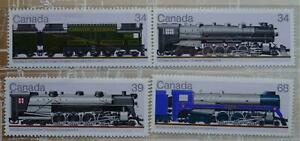 1986 Stamps Canadian Locomotives 1925 - 1945 Specifications CP & CP Railway