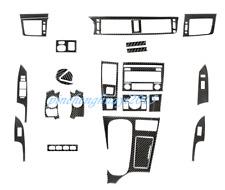 24PCS Real Carbon Fiber Car Interior Kit Cover Trim For Lexus CT 200h 2011-2017