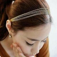 Tassel Chains New Head wear Hair Jewelry Elastic Headband Hair Accessories