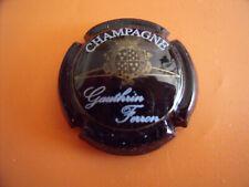 2. noir et or capsule de champagne GAUTHIER Edouard