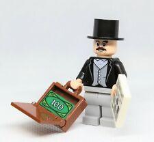 LEGO MINIFIGURES  THE BUSINESSMAN  business man newspaper Briefcase City suit