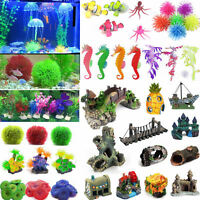 Artificial Coral Water Plants Ornament Aquarium Fish Tank Landscape Decoration