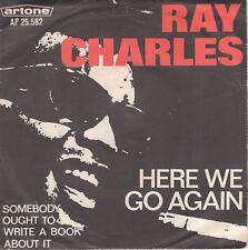 7inch RAY CHARLEShere we go againHOLLAND 1967 EX  (S2416)
