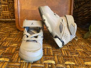 Toddler Air Jordan FLTCLB '91 Athletic Shoes Boys Sz 5C Grey #555330-003