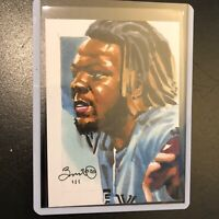 Vladimir Guerrero JR Blue Jays 1/1 hand drawn original art sketch card aceo