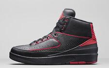 2016 Nike Air Jordan 2 Retro SZ 9 Black Varsity Red Alternate 87 II 834274-001