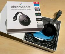 Google Chromecast (2. Gen.) FullHD Streaming Dongle HMDI Original Google