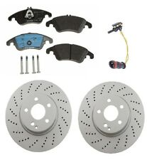 Mercedes W204 C350 2008-2013 Front Complete Brake Kit Rotors & Pads OEM Quality