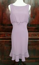 NWT Nine West Womens 8 Purple Lilac Dress $119