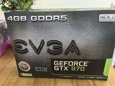 EVGA GeForce GTX 970 FTW plus ACX 2.0plus, graphics card