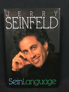 Sein Language by Jerry Seinfeld (1993, Hardcover)