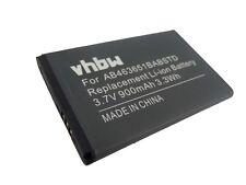 BATTERIA 900mAh -VHBW- per Samsung GT-S3370 Corby 3G / GT-S3650 Corby