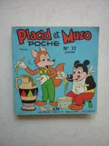 VAILLANT  /  PLACID  ET MUZO POCHE  / NUMEROS  37 /   JANVIER  1972